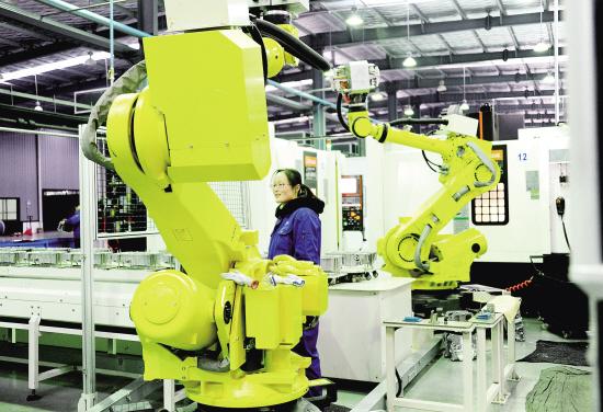 有限公司高智能生产线开足马力投入到新产品生产中.该公司主要为
