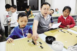 朱志红:让更多的孩子喜欢围棋图片
