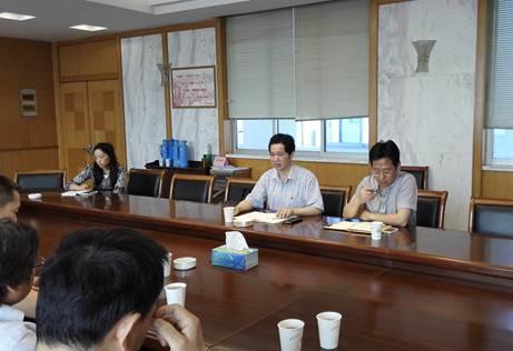 太仓民革健雄支部赴市环保局开展调研活动