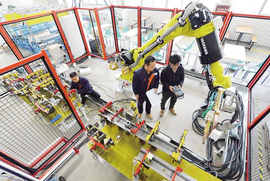 自动化生产流水线测试