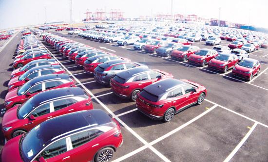 汽车物流中转稳步增长