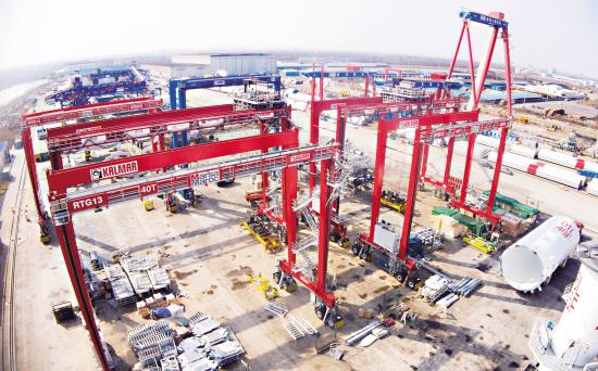 港口设备制造生产红火