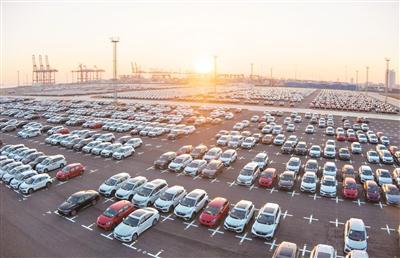 港口汽车物流中转量攀升