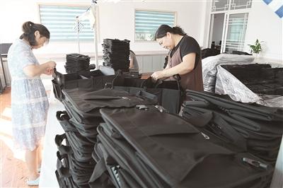 箱包礼品袋畅销海外市场