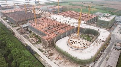 苏宁环上海电商产业园项目有序推进